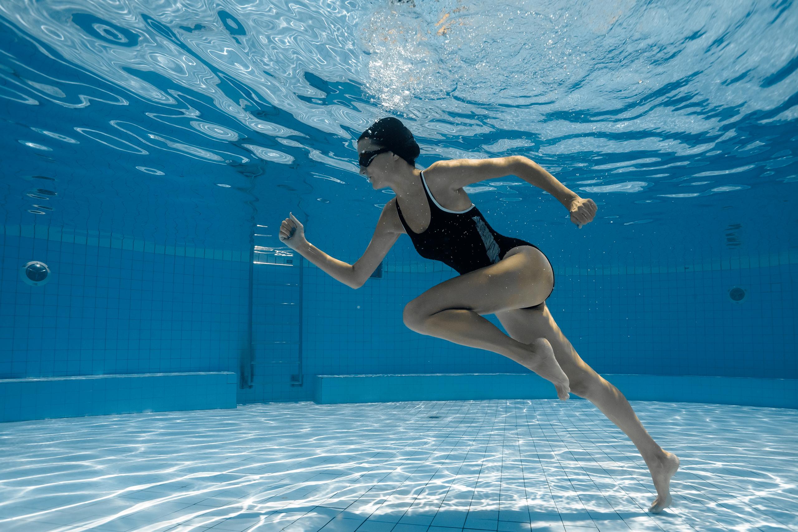 Занятие плаванием сколько похудеть