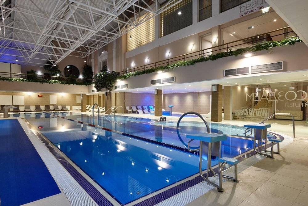 бассейн фитнес клубы в москве